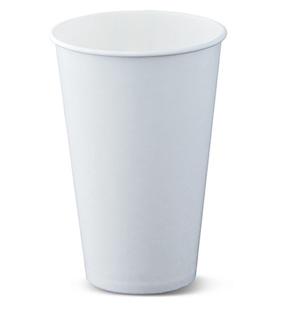 12oz White Cold Cup Ctn 1000