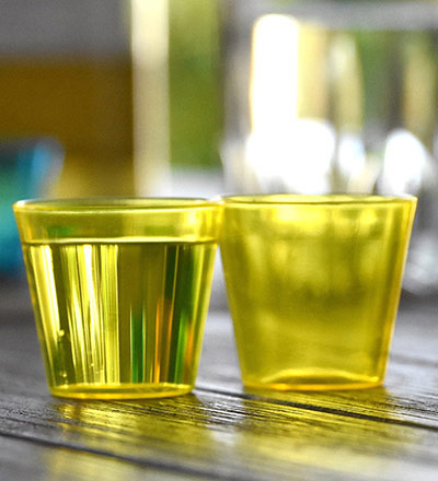 Disposable Shot Glass Yellow 30ml - Pkt. 25