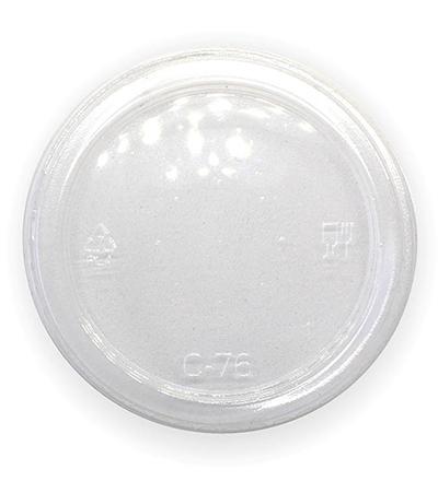 240-960ml  Flat Bio Bowl Lid - Ctn 500