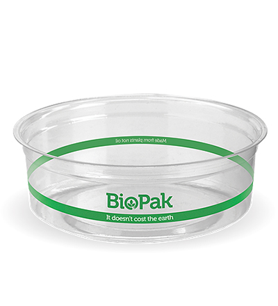 240ml Clear Bio Bowl - 500ctn