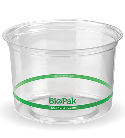 500ml Clear Bio Bowl - 500ctn